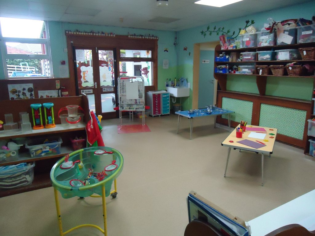 The park nursery activity room for Activity room